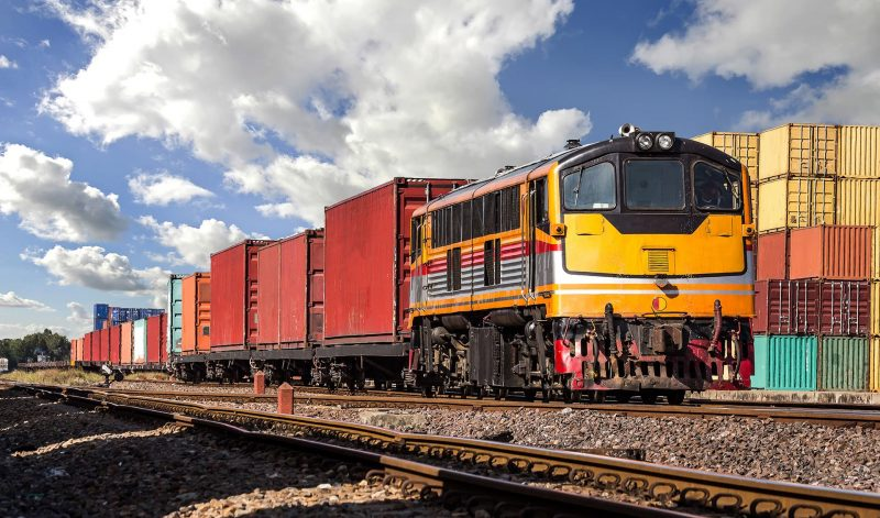 Freight forwarding- transport your goods internationally via rail freight