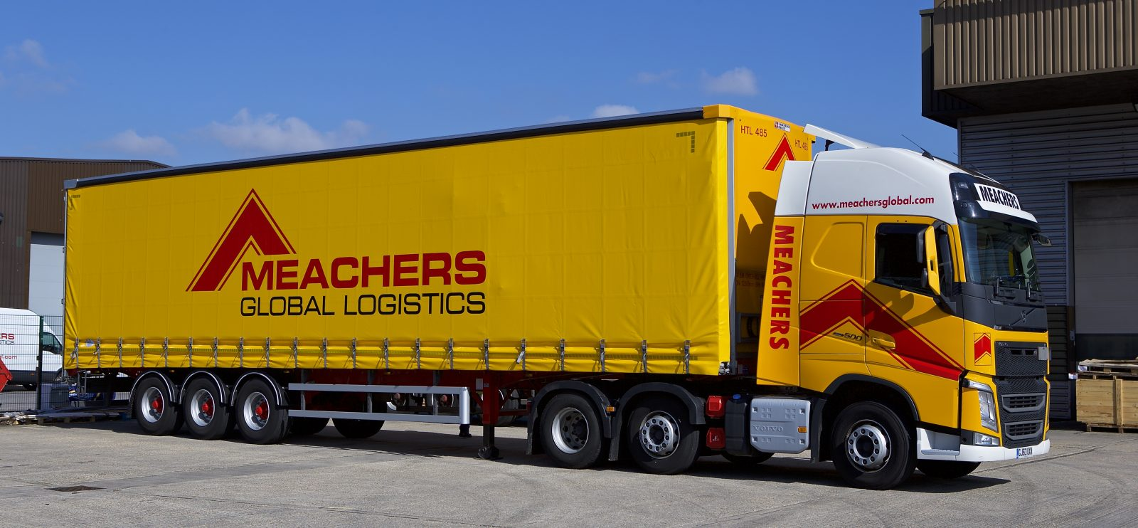Meachers Global Logistics Transport Warehousing Lorry