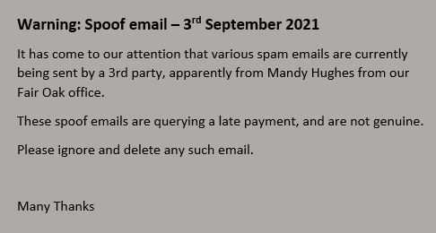 spoof emails